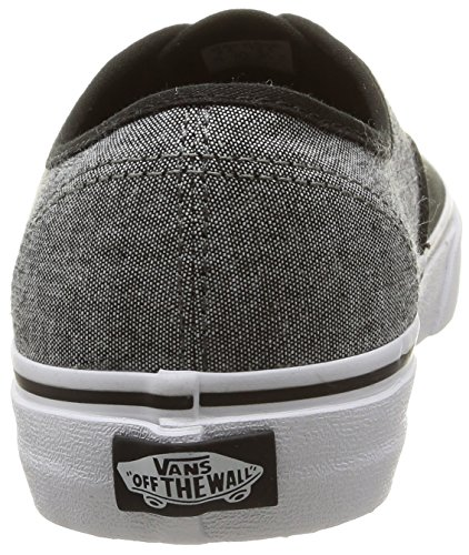Vans  U Authentic, Baskets basses Unisexe adulte Noir - Noir/étain
