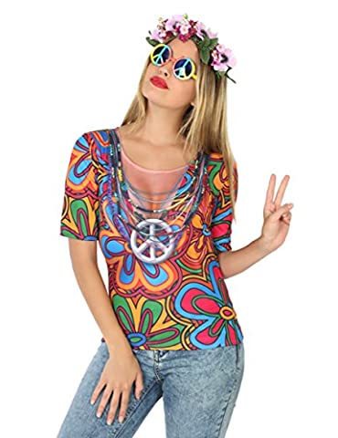 Girl Costume Hippie - Atosa 9664 Hippie Girl 3D