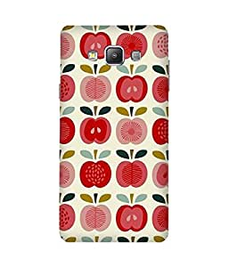 Apples Printed Back Cover Case For Samsung Galaxy A7