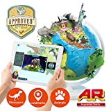 Oregon Scientific SG038R SmartGlobe Air, Mappamondo 3D portatile e pieghevole