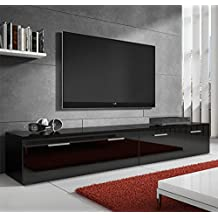 Muebles Bonitos – Mueble TV modelo Arona Negro 2m