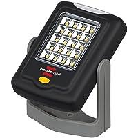 Brennenstuhl LED Arbeitslampe/flexible LED-Universalleuchte in praktischem Taschenformat (360° drehbar, vielseitig einsetzbar) Farbe: schwarz