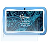 Bruni Schutzfolie für Padgene 7 Zoll Kinder Tablet Folie - 2 x glasklare Displayschutzfolie