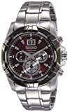 Seiko SPC197P1 Lord Analog Red Dial Men's Watch (SPC197P1)