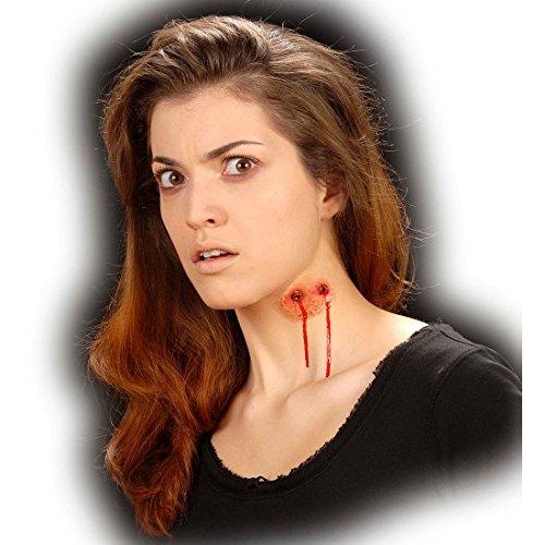 Bisswunde Karneval Vampir Make up Vampirbisse Halloween Dracula Wunden