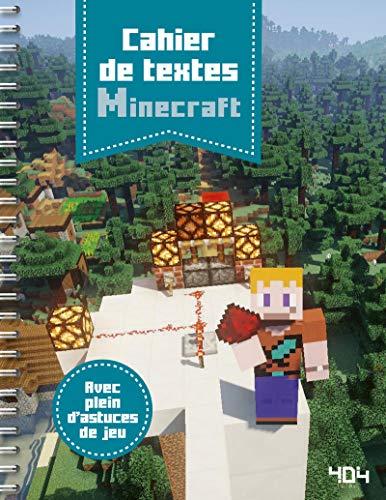 Cahier de textes Minecraft par Stéphane PILET