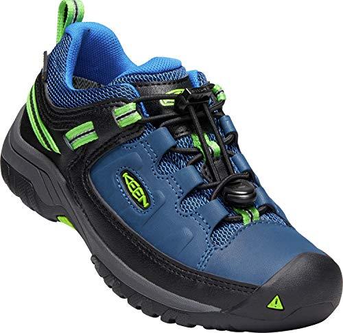 KEEN Targhee WP Low Shoes Youth Blue Opal/Bright Green Schuhgröße US 6   EU 38 2019 Schuhe