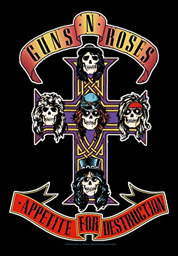 guns-n-roses-textil-poster-appetite-for-destruction-75-x-110-cm