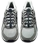 Nathan Lock Laces Reflective Running Shoelace & Fastening System - Grey