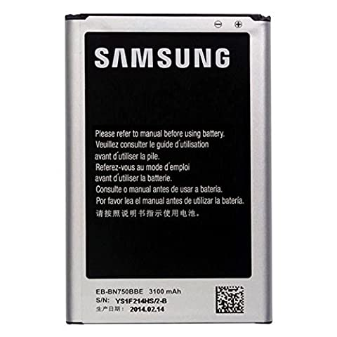 Original Akku für Samsung Galaxy Note 3 Neo, EB-BN750BBEC - 3100mAh-Bulk