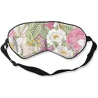 Comfortable Sleep Eyes Masks Colored Floral Pattern Sleeping Mask For Travelling, Night Noon Nap, Mediation Or... preisvergleich bei billige-tabletten.eu