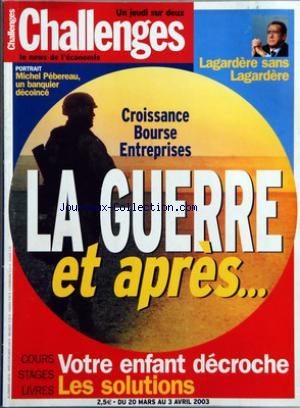 CHALLENGES [No 197] du 20/03/2003 - PORT...