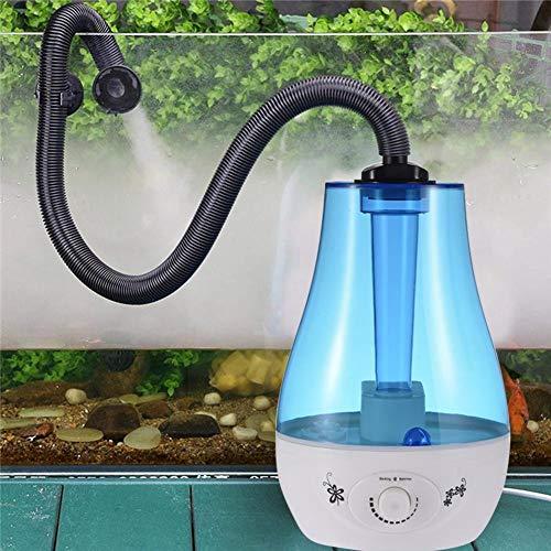 Zerstäuber Wassernebel Dispenser Reptilien Luftbefeuchter 3L Wassertank Crawler Box Zerstäuber Wassernebel Dispenser Für Echsen Chamäleons Schlangen Terrarium