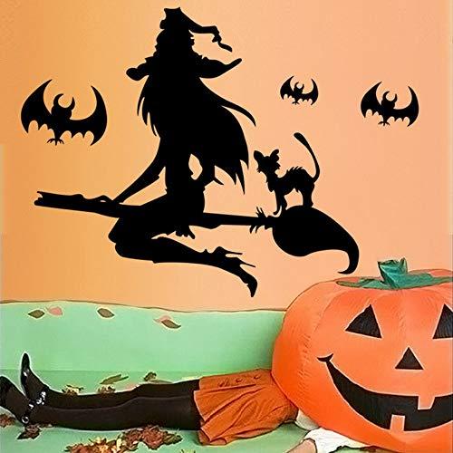maus Halloween Wandaufkleber für Wohnzimmer Schlafzimmer Party Dekoration Vinyl Wasserdicht Diy Art Decals ()