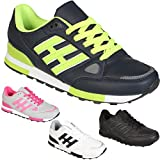 NEW LADIES RUNNING TRAINERS WOMENS WALKING SHOES GIRLS SPORTS FITNESS LACE UP GYM SHOE