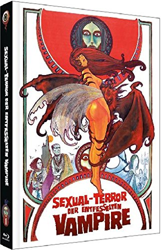 Bild von Sexual-Terror der entfesselten Vampire (Jean Rollin Collection Nr. 1 - Mediabook  Cover A  (+ DVD) [Blu-ray] [Limited Edition]
