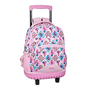 511cpVl4%2BEL. SS300  - Moos Flamingo Pink Oficial Mochila Escolar Grande Con Ruedas 320x140x460mm