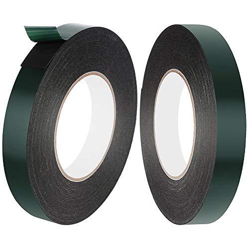 Faburo 2 Rollos 10m × 20mm Cintas adhesivas doble