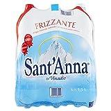 Sant'Anna Acqua Minerale Frizzante - 6 Bottiglie da 1.5 Litri