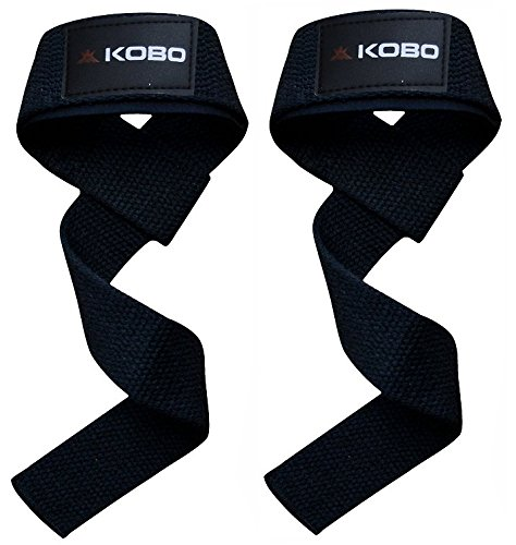 Kobo WTA-03 Power Cotton Gym Support (Black)