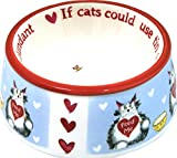 Duke & Co Cupboard Love Ceramic Cat Bowl