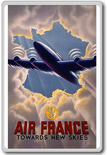 air-france-towards-new-skies-vintage-aviation-fridge-magnet-aimant-de-refrigerateur
