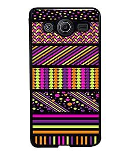 PrintVisa Designer Back Case Cover for Samsung Galaxy Core Prime G360 (multi color textured designer image)