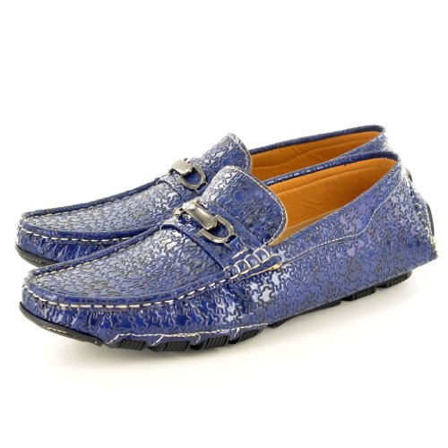 My Perfect Pair , Herren Mokkasins Blau