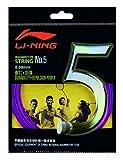 Li Ning Badminton Schläger-Saite Badminton-String No. 5 Magenta