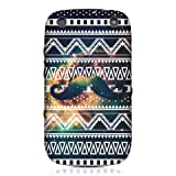 Head Case Designs Coque pour Blackberry Curve 9320 Motif aztèque, moustache et nébuleuse