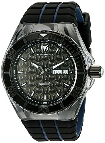 technomarine-mens-quartz-watch-with-black-dial-analogue-display-and-black-silicone-strap-tm-115183