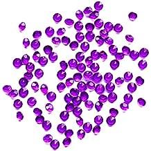 Leisial 1000pcs Ropa de Diamantes Multicolor Cristal Manualidades Piedras Brillantes Joyas Cristales Decorativos para Decoración de Boda Cristales 4.5mm