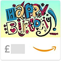 Happy Birthday (Doodle) - Amazon.co.uk eGift Voucher