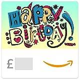 Happy Birthday (Doodle) - E-mail Amazon.co.uk Gift Voucher