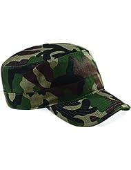 Beechfield Unisexe Camouflage Armée Militaire Hunting Chapeau Casquette