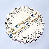 Doily Paper Mat - Medium - 7.5 inch - 100 pieces