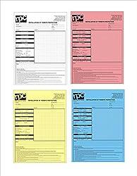 Jdcmyk @ A4Größe: 21X 29Cm 50lot Custom Print Kohlenstofffreies Papier Lieferung Buch, Bestellung Rechnung Bücher Zahlung Beleg Bücher, 2–4Teile, 99–100Seiten,buch A4 21x29cm 4-part