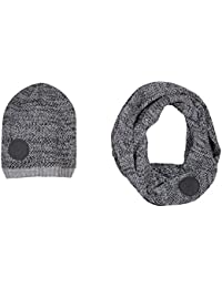 Amazon.fr   B-KARO - Packs bonnet, écharpe et gants   Accessoires ... ce61f9b1ac1