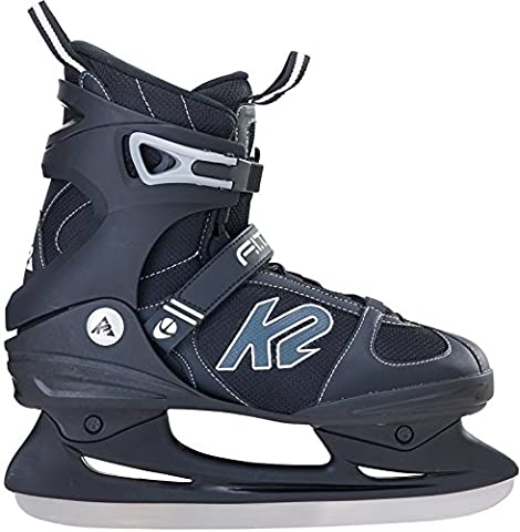K2 F.i.t. Ice Patins à glace pour homme, Homme, Schlittschuhe F.i.t. Ice, noir/gris