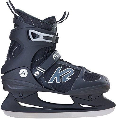 K2 Schlittschuhe F.i.t. Ice Herren Schlittschuhe, schwarz/grau, 43.5 EU (10 US), F.I.T. ICE