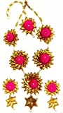 BLENT Traditional Pink Gota Jewellery Se...