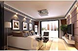 GKRY-Wohnzimmer Schlafzimmer Eingang Korridor TV Wand Fresko DekorationDie spiegelwand Acryl stereo Fries 3d-Wand Abnehmbare 10 x 10 cmx 10 Chip,black