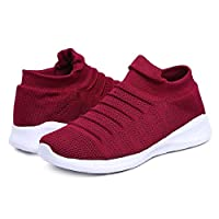Unistar Knitted Upper EVA Sole Women's Outdoor Casual Sneakers/Walking Shoes