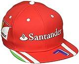 FERRARI F1 Herren Raikkonen Flat Cap, Red, One Size