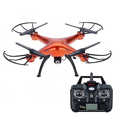 BigFox Syma X5SW FPV Explorers 2.4Ghz 4CH 6-Axis Gyro RC Headless Quadcopter Drone with 0.3MP Camera Wifi Camera