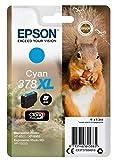 Epson Original 378XL Tinte Eichhörnchen (XP-8500 XP-8600 XP-8605 XP-15000, Amazon Dash Replenishment-fähig) cyan