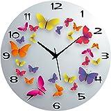 #2: Saree House 10 Inch Circular Analog Wall Clock Rnd-Shw0553 20 - Pack Of 1