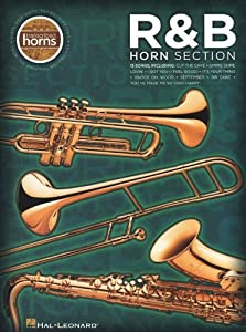 R&B Horn Section - Transcribed Horns. Sheet Music for Tenor Saxophone, Baritone Saxophone, Trumpet, Trombone, Alto Saxophone(Acoustic)