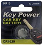 Key Power CR1620-KP Car Key Fob Lithium Battery 3 V