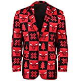 Forever Collectibles NBA Patches Business Jacke, Herren, Chicago Bulls, 48 (X-Large)